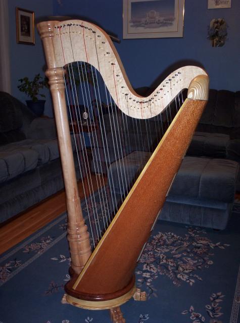 Mini Concert Harp  $2500